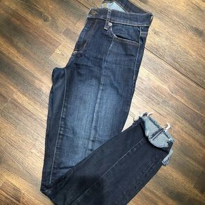 Gap Mid-Rise Skinny Jean with Front Seam Detail
